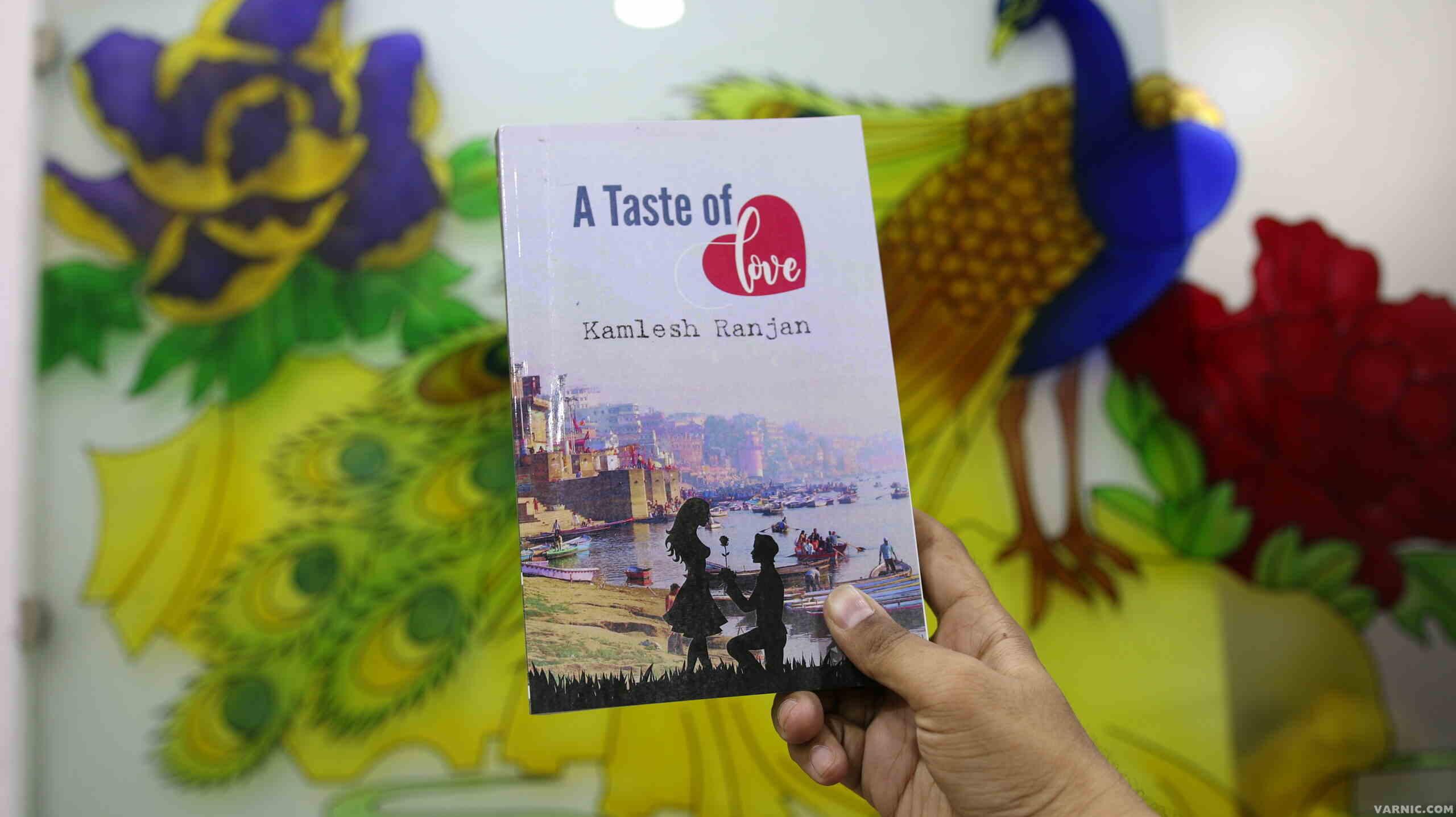 """A Taste of Love by Kamlesh Ranjan"" Novel launched | Varnic"